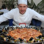 Paella for 60 Persons